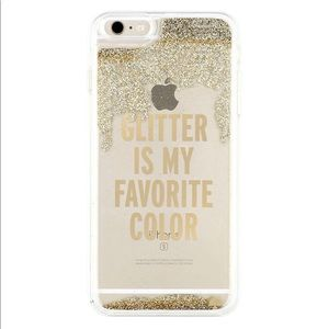 Kate Spade Glitter Is My Favorite Color Phone Case